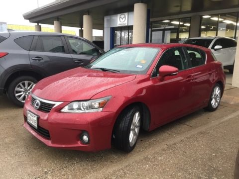 Pre-Owned 2012 Lexus CT 200h Premium FWD 4D Hatchback